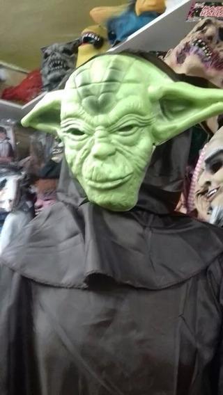 Disfraz Star Wars Yoda Niños Halloween Cotillon Chirimbolos