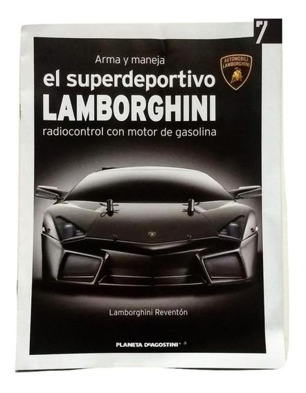 Lamborghini Para Armar - Fasiculo 7 - Escala 1/10