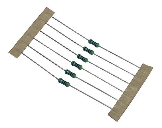 Resistor Metal Filme 1/4 W 2% - 10 Unidades