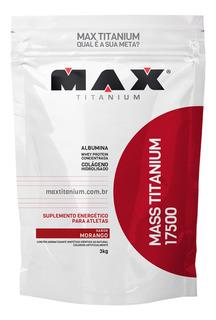 Suplemento Hipercalorico Max Titanium Ganho Massa Muscular