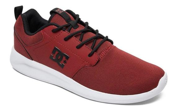 Zapatilla Midway Sn M Shoe Rojo Dc Shoes