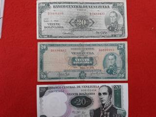 Billetes De Colección Venezolana 1964