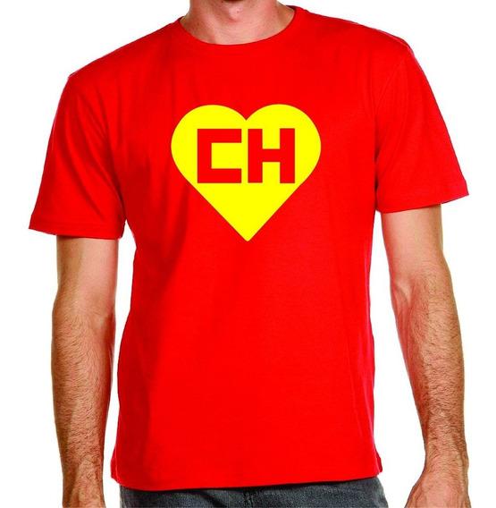 Chapolin Colorado - Camiseta Malha Pv