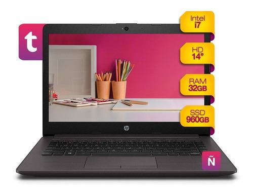 Imagen 1 de 1 de Notebook Hp Intel I7 Windows 10 + 960gb Ssd + 32gb Ram