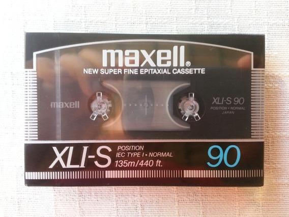 Fita Cassete Maxell Xli-s 90 Minutos Made In Japan Lacrada