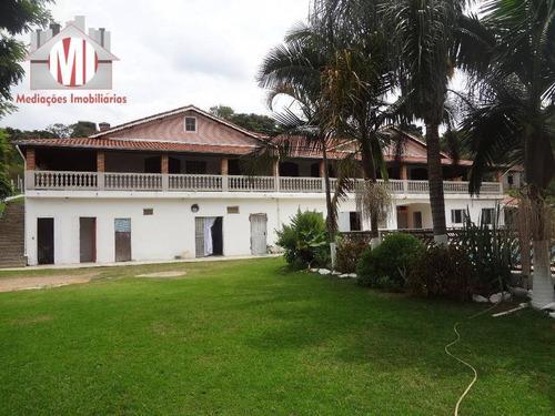 Chácara Com Escritura, 06 Dormitórios, À Venda, 3000 M² Por R$ 795.000 - Zona Rural - Pinhalzinho/sp - Ch0208
