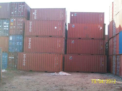 Contene Containers Maritimo  Nacionalizados 40 Hc Merlo