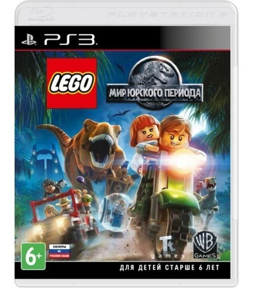 Lego Jurassic World - Mídia Física / Ps3