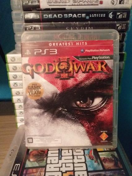 God Of War 3 ,ps3, Mídia Física.