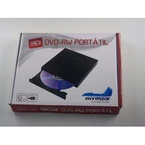 Gravador De Dvd Externo Mymax Slim Usb 8x