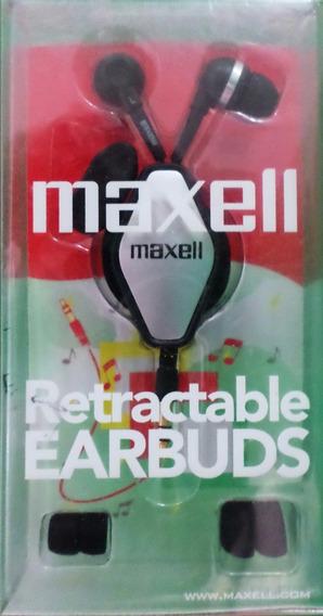 Audifonos Retractiles Maxell 347069