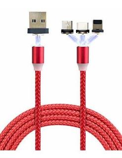 Smart Y Cool Cable De Carga Magnetico Trenzado De Nailon Gen