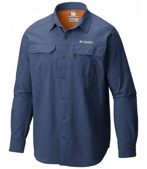 Camisa Columbia Titanium Irico Manga Larga Hombre