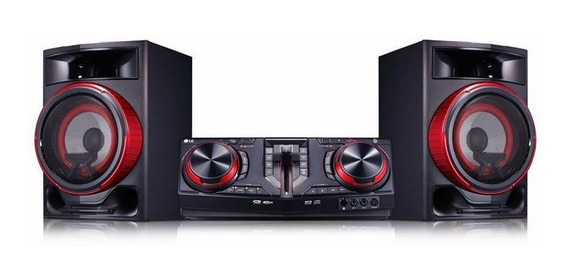 Mini System Lg 1800w Rms Bluetooth - Cj87.abrallk