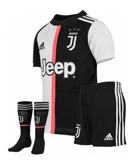 Camiseta Juventus Niños 2019 2020 Short Medias Uniforme