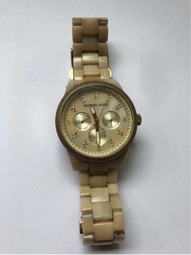 Relógio Michael Kors Mk5039 Marfim Madreperola