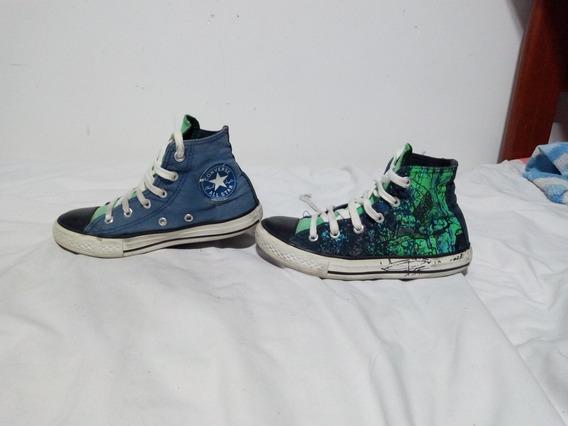 Zapatillas Converse Talle 32 Zapatillas Talle 32 Verde en