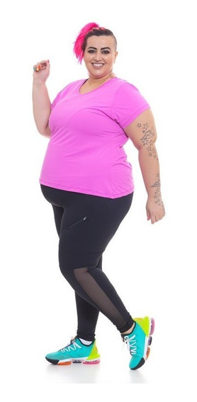 T-shirt Plus Size Wonder Size Fluity Rosa