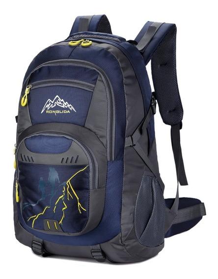 Mochila 50 Litros Trekking,cámping + Envios Gratis!!