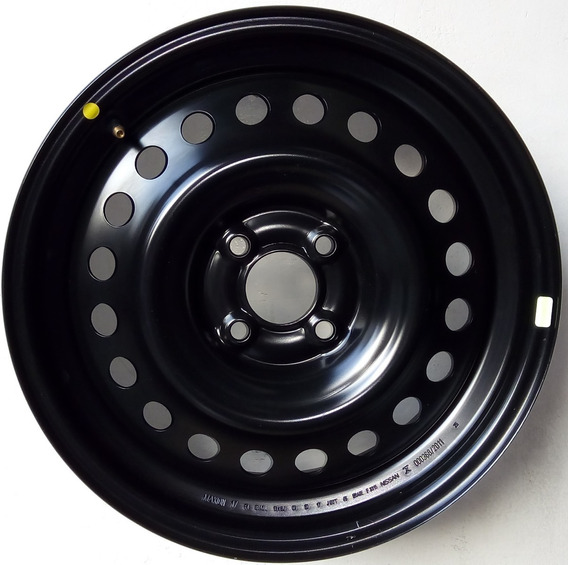 Roda Original Ferro Aro 16 4x100 Vw Gm Gol Kicks Nova Sem Us