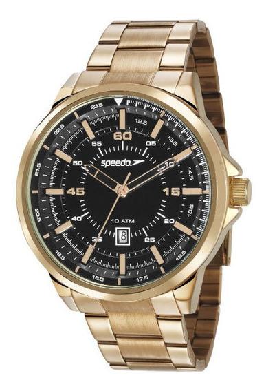 Relógio Speedo, Dourado, Masculino, 10 Atm, 15003gpevds1
