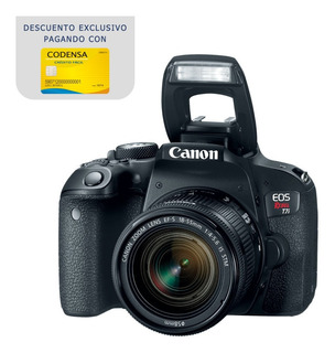 Cámara Canon Eos Rebel T7i / 800d Kit 18-55mm