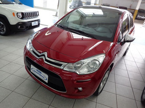Citroën C3 Exclusive 1.5 2016 Vermelha Flex