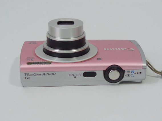 Camera Digital Usada Canon A2600 16mp Promoção + Brindes