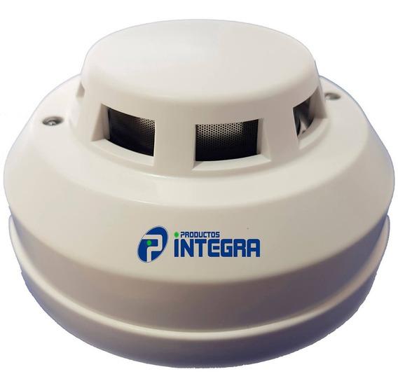 Sensor Detector Humo Profesional 4 Hilos Alarma Casa Fuego