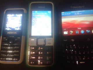 Celular Basico Nokia Verde Movist, Blackberry 9320 Mini Dual