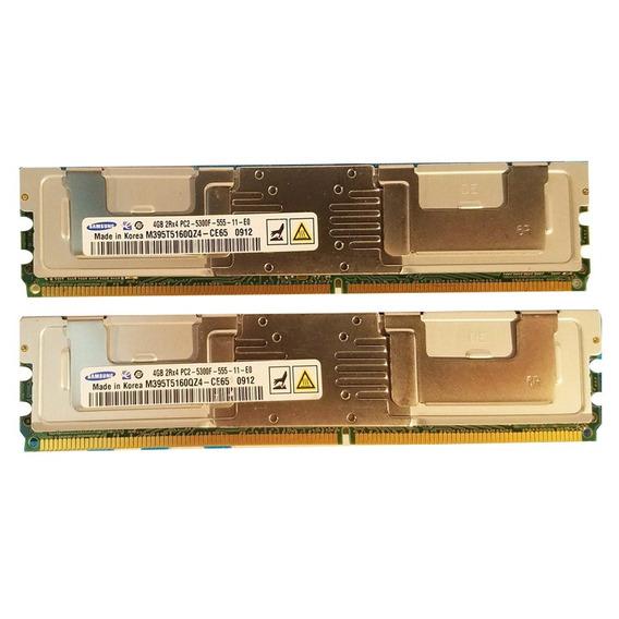 Memoria Servidor Hp Kit 8gb Dl380 Bl460c Bl680c Ml350 Ml370