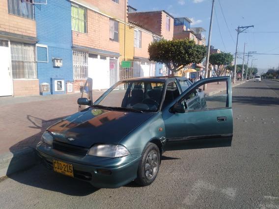 Chevrolet Swift Motor 1.300 1995 Verde Oliva 5 Puertas