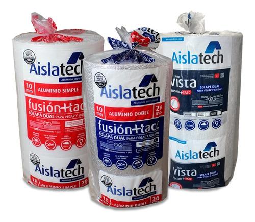 Imagen 1 de 5 de  Aislante Aislatech Doble Aluminio 10mm  C/ Solape