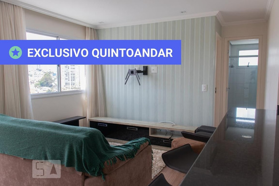 Apartamento No 10º Andar Mobiliado Com 1 Dormitório E 1 Garagem - Id: 892984337 - 284337
