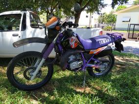 Yamaha Dt200 Monoaba 1995 Preta Com Roxo