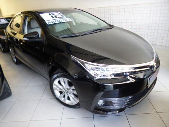 Corolla 2.0 Aut Flex Xei 2018 Preto