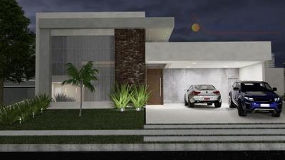 Casa Terrea Com 3 Suites Em Um Dos Condominios Mais Cobiçados Da Cidade. - Ca6977