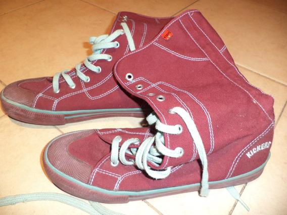 Zapatilla-botitas Kickers, Muy Buen Estado!!!!!!!