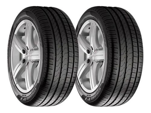 Imagen 1 de 6 de Paquete 2 Llantas 245/50 R18 Pirelli P7 Cinturato Runflat 100w Bmw Msi