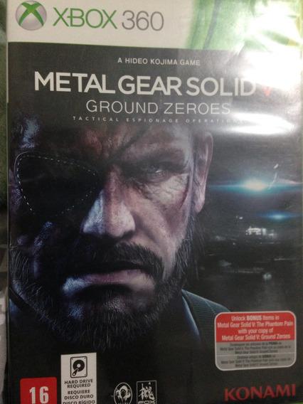 Jogo Xbox 360 Metal Gear Solid V
