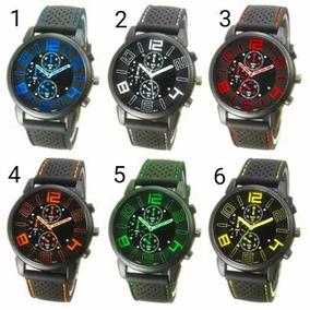 4 Relógio Masculino Sport Sanwood F1 Silicone