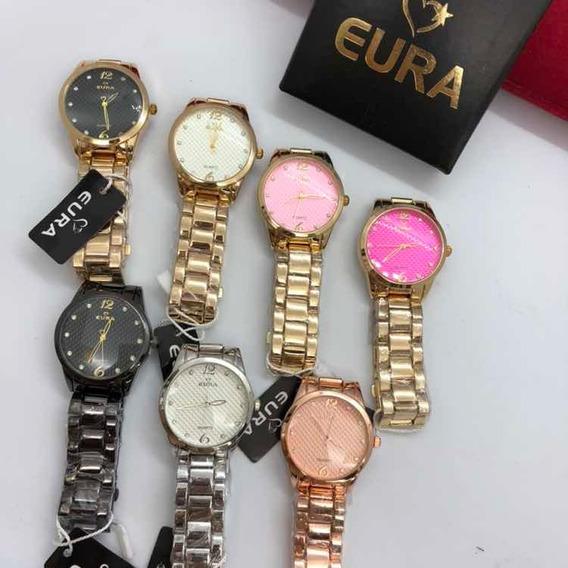 5 Kit De Relógios Da Marca Eura No Atacado