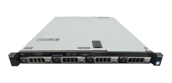 Servidor Dell Power Edge R430 Seminovo - Six Core - 16gb Ram
