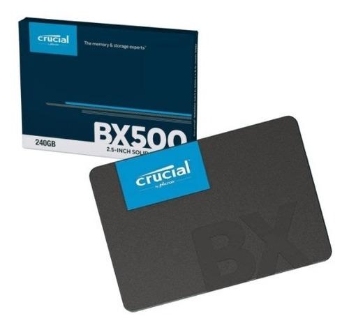 Ssd Crucial Bx500 240gb - Envio Imediato