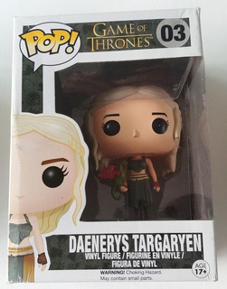 Figura Funko Pop Game Of Thrones Daenerys Targaryen Import