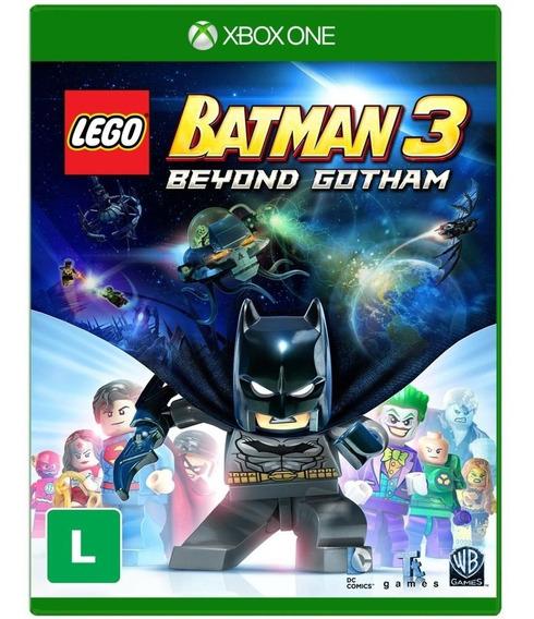 Lego Batman 3 Beyond Gotham Xbox One Mídia Física Português