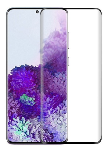Vidrio Templado 3d Curvo Full Glue Samsung S20 Ultra