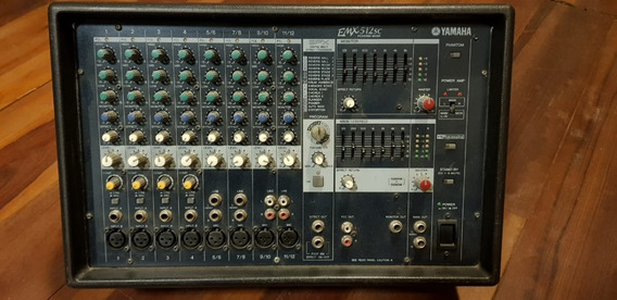 Módulo Mesa De Som / Potência, Yamaha Emx512sc, 500 Watts