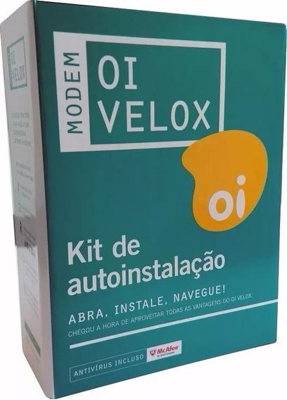 Modem Oi Velox Ts-9000 Telsec Kit De Autoinstalação