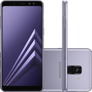 Samsung Galaxy A8 2018 A530f 32gb 16mp Ametista Vitrine 2